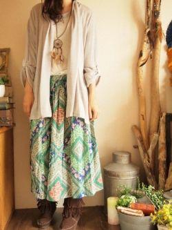エスニックファッション コーディネート