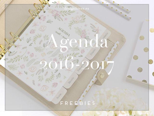 Descarga e imprime tu agenda, puedes personalizarla a tu gusto, y es totalmente…
