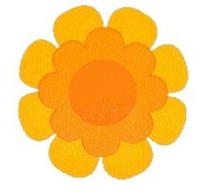 S Flower Irange Yellow Image