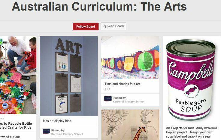 Australian Curriculum The Arts http://www.pinterest.com/Soaring2Success/australian-curriculum-the-arts/