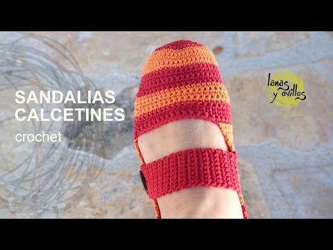 Pantuflas o Sandalias | Lanas y Ovillos