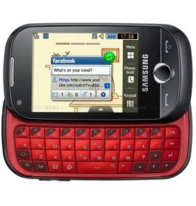 SAMSUNG B5310 CORBY PRO BLACK QWERTY 3G WIFI TOUCHSCREEN GSM UNLOCKED WHOLESALE CELL PHONES - FACTORY REFURBISHED  (WHOLESALE RESELLERS & DISTRIBUTORS ONLY)