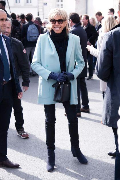 Brigitte Macron: le style de la femme d'Emmanuel Macron en images ...