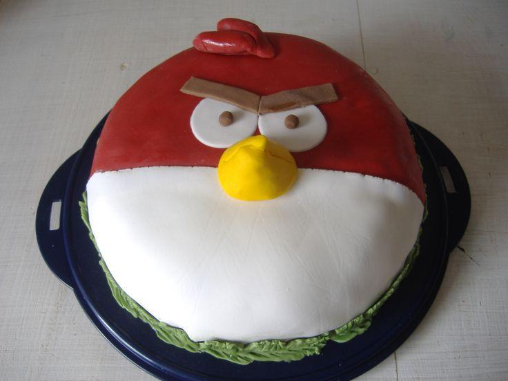 Anry Bird cake