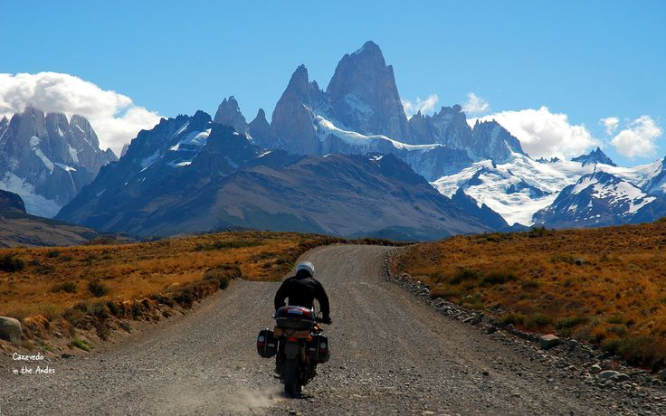 El Chalten, Argentina.  What a great place, one of the most beautiful places I've ridden.