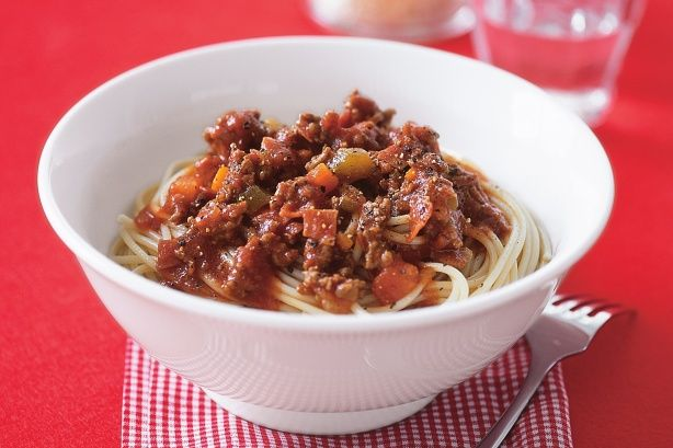 For a twist on traditional bolognaise, try this flavourful beef ragu over your next bowl of spaghetti.