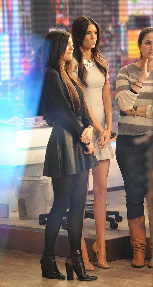 Kendall and Kylie Jenner 2013