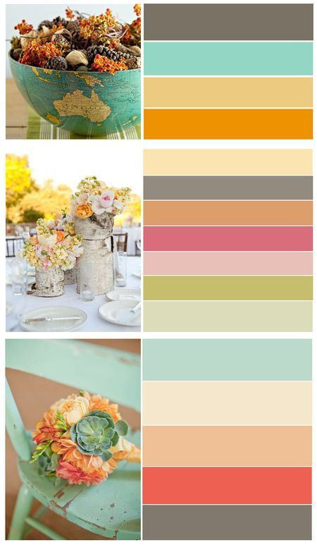 12 Color Palettes the third in the picture we might be able to work with.