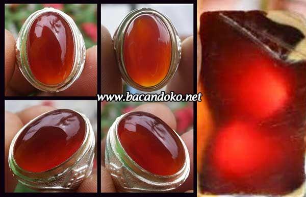 Batu Akik Red Raflesia Bengkulu