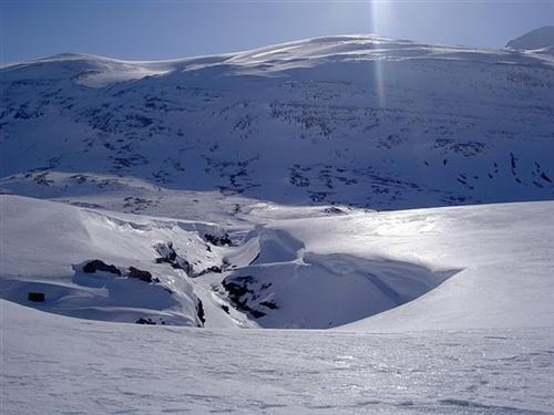 Winter in Sarek National Park, by: Peter Rijs. Tags: #lapland #sarek #trekking #winter in sweden