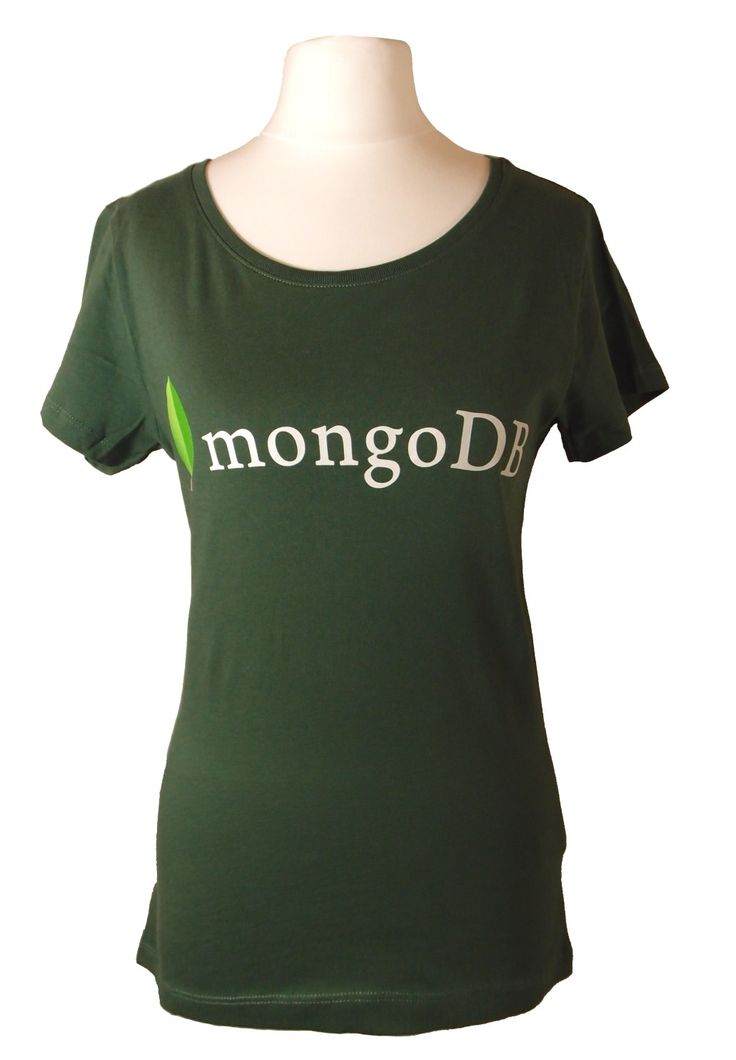Chillax in this casual soft t-shirt designed for MongoDB for women  Find us on facebook at https://www.facebook.com/JNLondon
