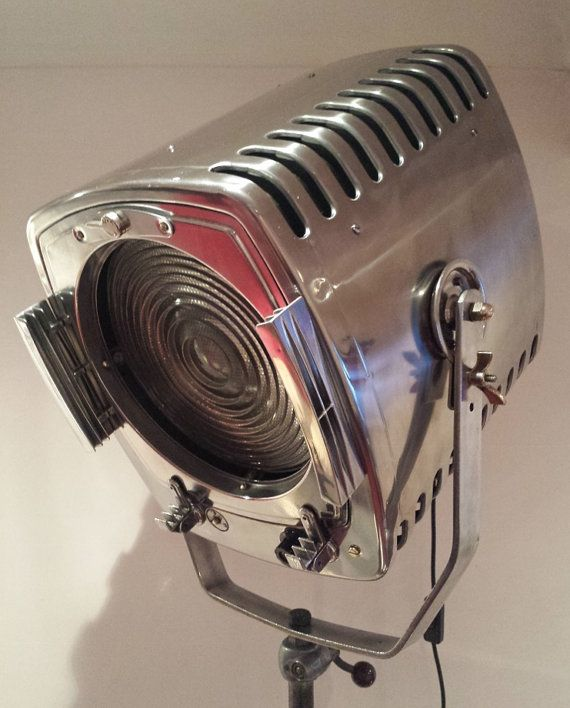 309 Best Images About Vintage Stage & Movie Lights On