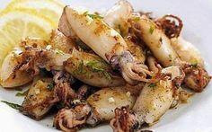 Padellata di calamaretti al prezzemolo. #padellatadicalamarettiricette