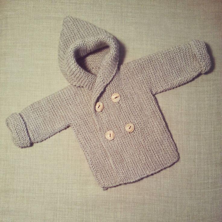 lanitasypapel: Haz una chaqueta de bebe con capucha facil con tutorial                                                                                                                                                                                 Más