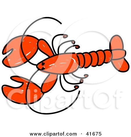 61 best lobster images on pinterest lobsters clip art and rh pinterest com lobster clipart black and white clipart lobster free