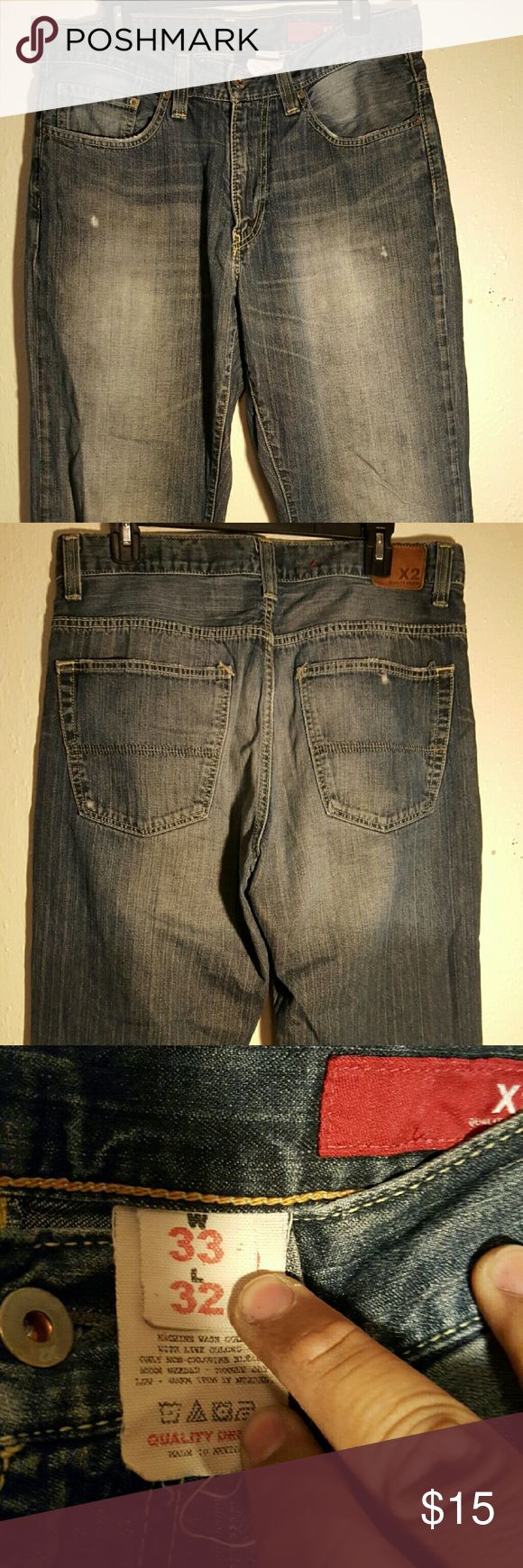 Express men's jeans Worn it once or twice Express Jeans