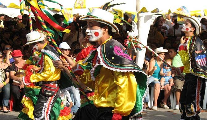 Barranquilla's Carnival (Spanish: Carnaval de Barranquilla) is Colombia's most important folkloric celebration, and one of the biggest carnivals in the world. T... Get more information about the Carnival of Barranquilla on Hostelman.com #event #Colombia #culture #travel #destinations #tips #packing #ideas #budget #trips #carnival
