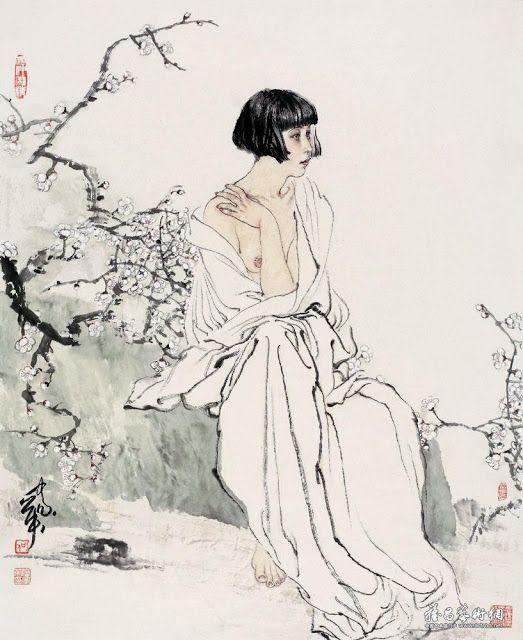 He Jiaying, Contemporary Chinese artist ~ Blog of an Art Admirer
