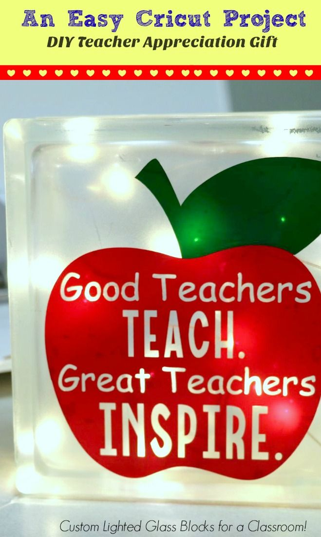 Ever since I got my Cricut Explore Air last November and saw how easy Getting Started With a Cricut really is, I've been obsessed with making gift after gift for people. In fact, my latest project is an easy homemade teacher appreciation gift idea that I know my kids' teachers are going to love!