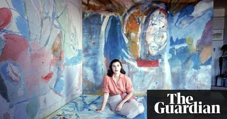 Abstract expressionist artist associated with the colour field movement