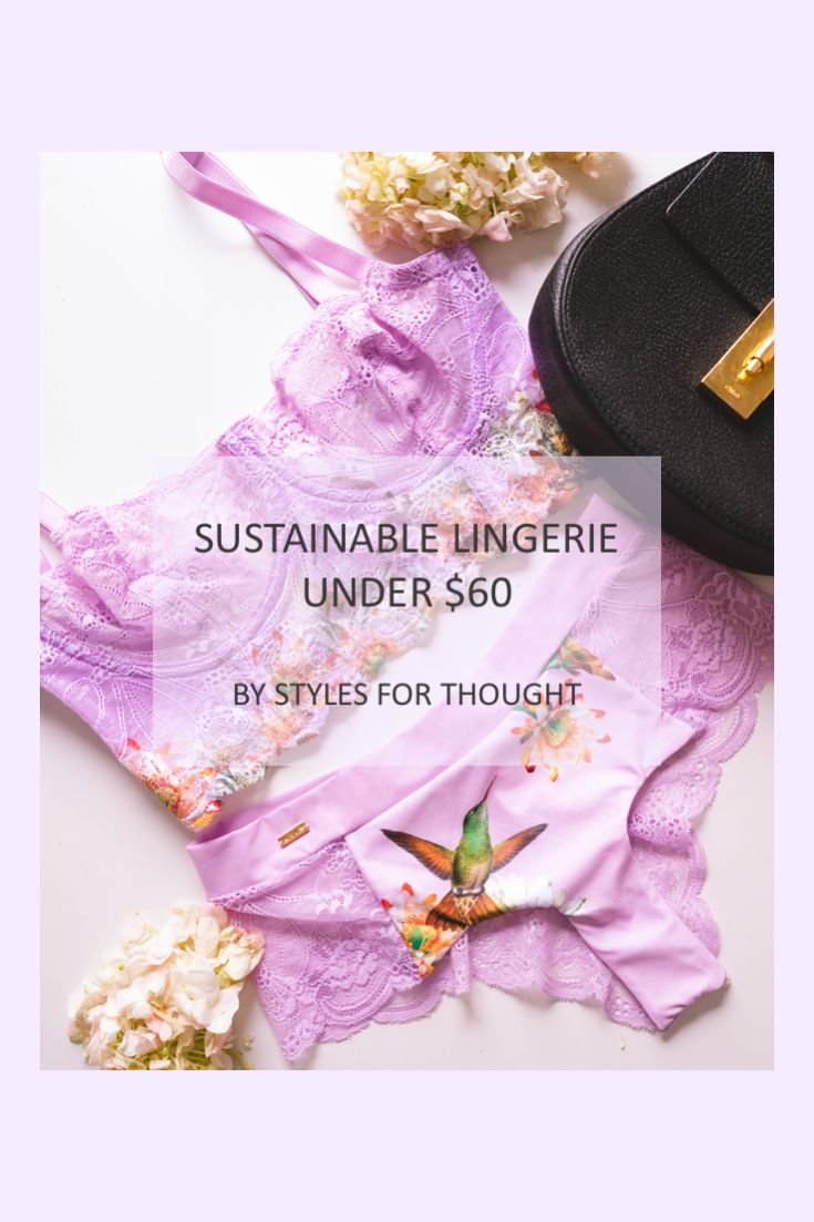 You don't want to miss Naja's sustainable lingerie!