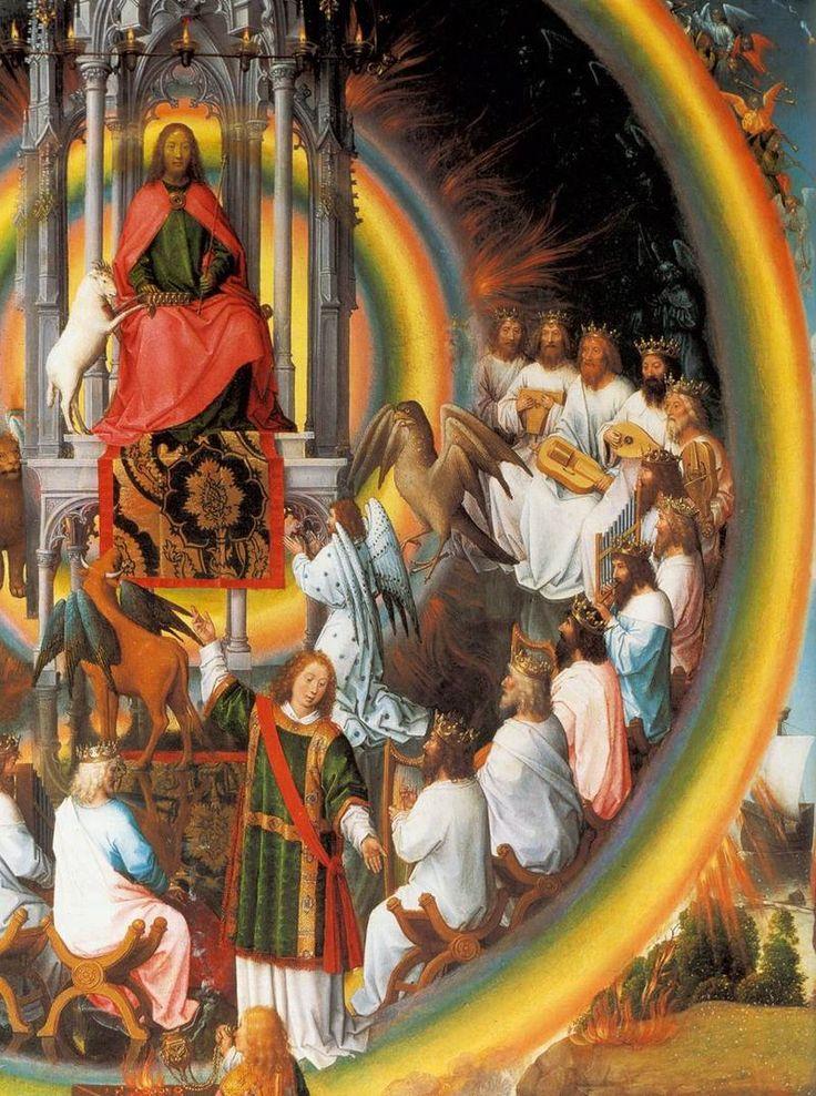 Memling, polittico di san giovanni 14 - Le Mariage mystique de sainte Catherine (Hans Memling) — Wikipédia