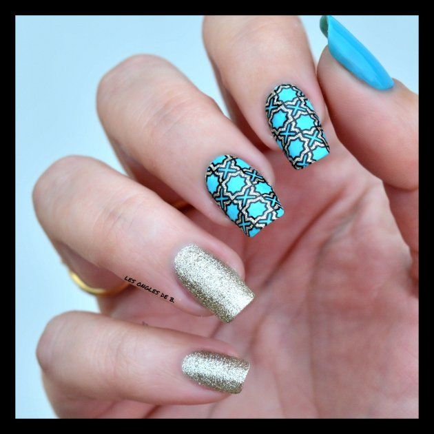 The 91 best KONAD - Stamping Nail images on Pinterest | Image plate ...