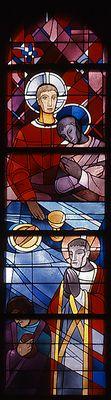 Glasmalerei Mönchengladbach-Pongs, Kath. Kirche Herz Jesu