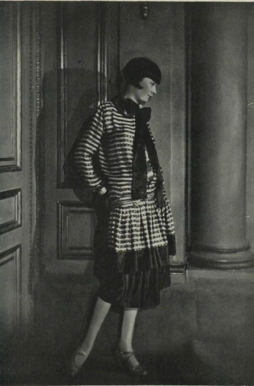 Lucien Lelong model, 1920s