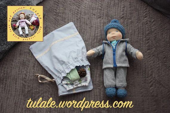 Order a doll 16 inch Custom Waldorf Inspired OOAK rag