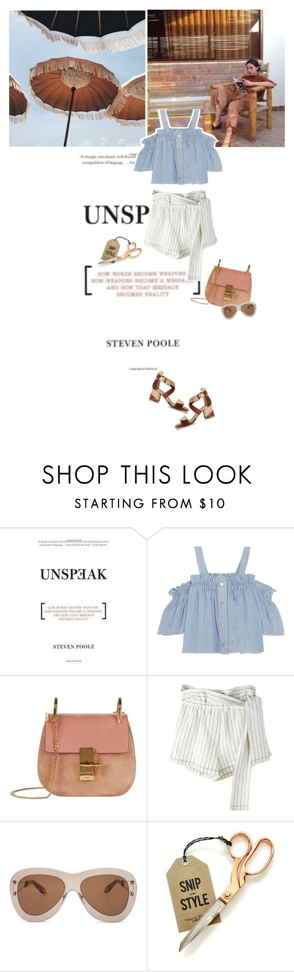 """""""Come Down On Me"""" by valentina-kochur ❤ liked on Polyvore featuring Poesia, Steve J & Yoni P, Chloé, 3.1 Phillip Lim, Givenchy and Gianvito Rossi"""