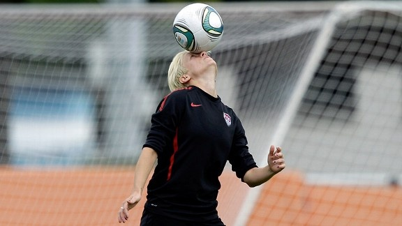 Megan Rapinoe - This midfielder for the U.S. women's soccer team is going to be a blast to watch at the Olympics!