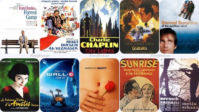 Sinema Tarihinin En Güzel Aşk Filmleri - Forum Gerçek