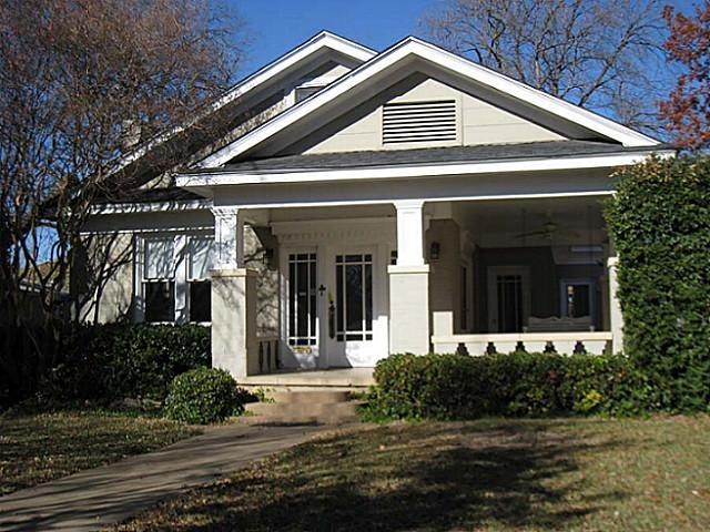 1923 craftsman bungalow dallas tx like the front door for Craftsman style homes dfw