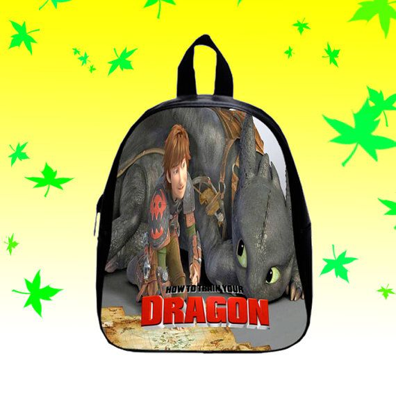 How to train your dragon Movie  Backpack/SchoolBags by FACIALBAG