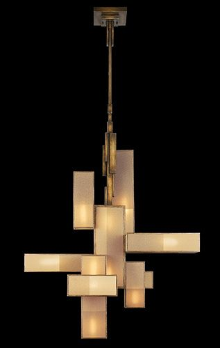 Perspectives Oblong Chandelier, from Laura Kincade