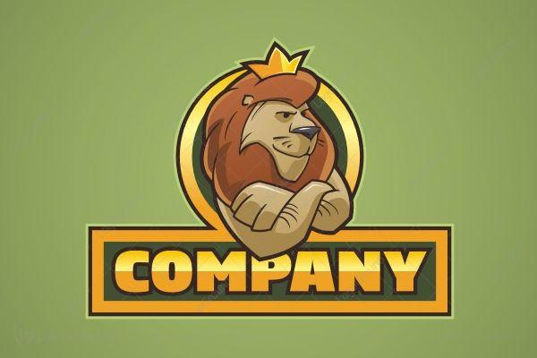 Logo for sale: Cartoon Lion Logo