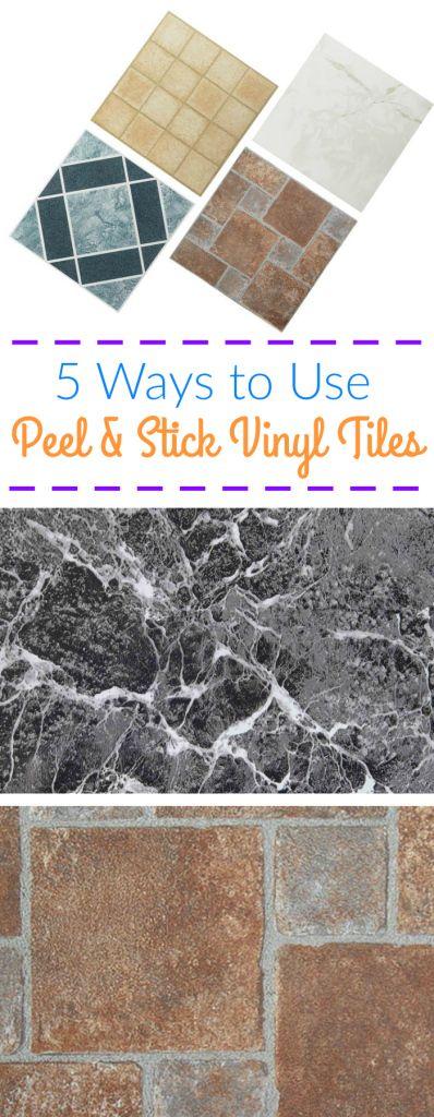 85 best images about peel and stick tile on pinterest kitchen backsplash vinyl planks and tile. Black Bedroom Furniture Sets. Home Design Ideas