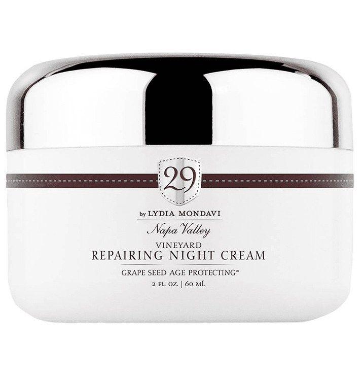29 by Lydia Mondavi Vineyard Repairing Night Cream # ...
