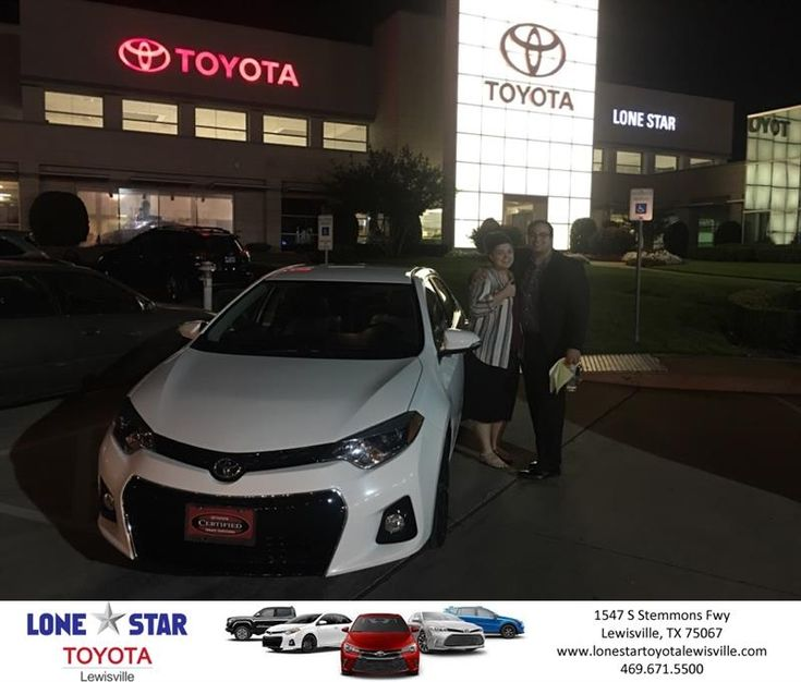 Congratulations Ramzi on your #Toyota #Corolla from Chris Richardson at Lone Star Toyota of Lewisville!  https://deliverymaxx.com/DealerReviews.aspx?DealerCode=E208  #LoneStarToyotaofLewisville