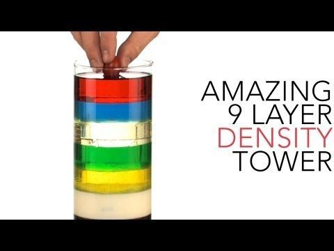 How to Stack Liquids in a Rainbow of Layers, a Fun Kid Science ...