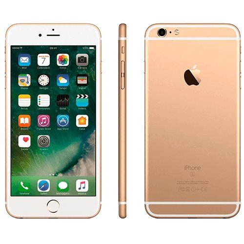 """iPhone 6s Plus 16GB Apple Dourado - 4G LTE - 5.5"""" Retina - iOS 9 - Desbloqueado Compre em oferta por R$ 2929.00 no Saldão da Informática disponível em até 6x de R$488,16. Por apenas 2929.00"""