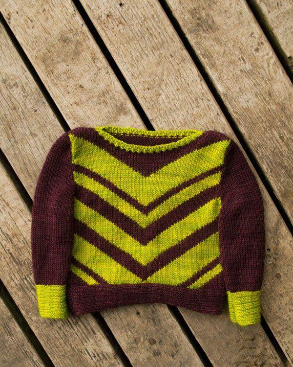Frankie Jane baby sweater knitting pattern by Stephanie Mason