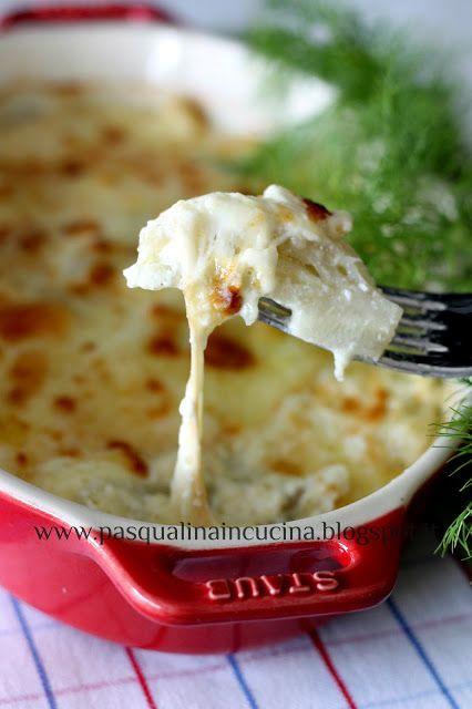 Finocchi e mozzarella affumicata