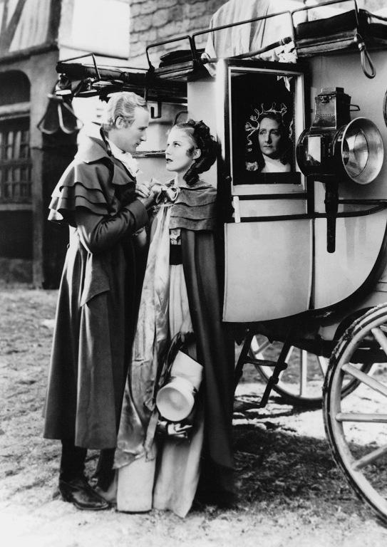 """They seek him here, they seek him there. Those Frenchies seek him everywhere.""  ;-)  (""The Scarlet Pimpernel"", 1934. Leslie Howard. Merle Oberon.)"