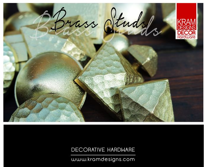 Brass (some may call it Gold) Kram Designs Decorative Hardware will turn any from door into a Royal entrance work of art.