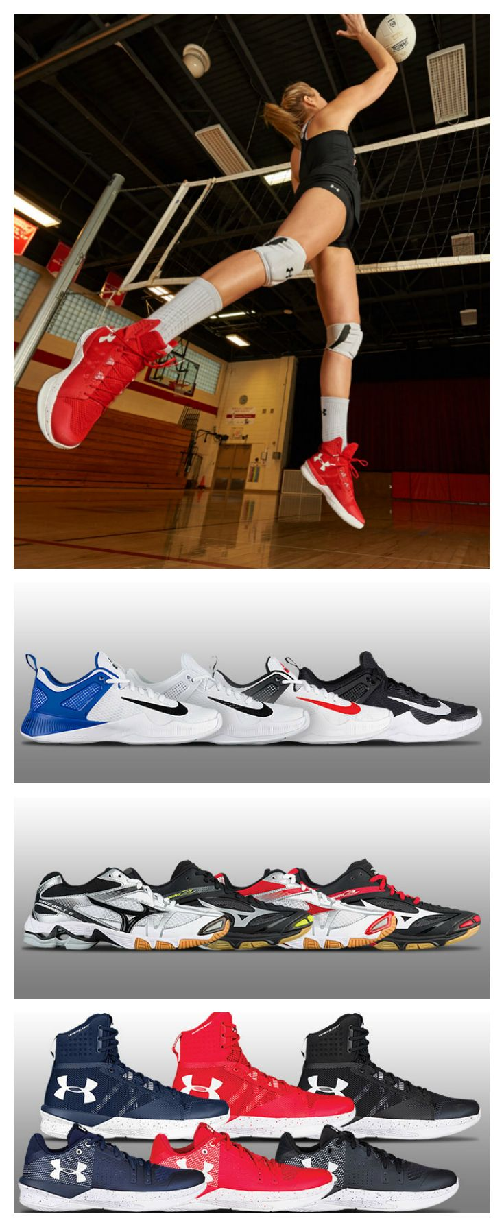 Check out our guide to the best volleyball shoes of 2017.