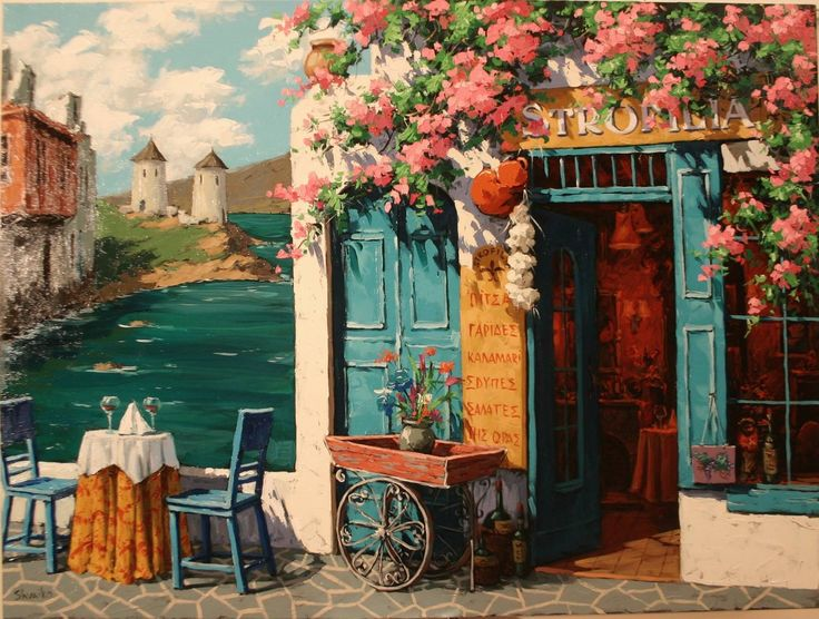 Painter Victor Shvaiko