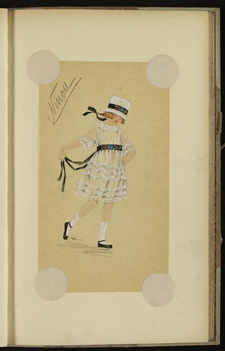 NINOU  HIVER 1917 © Patrimoine Lanvin. #Lanvin125