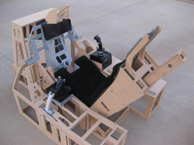 20 best diy sim cockpit images on pinterest control for Home building simulator